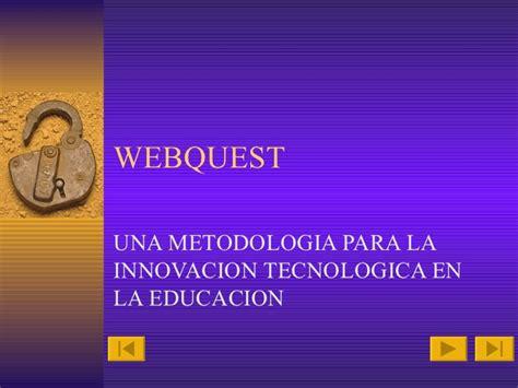 tutorial de webquest tutorial de webquest