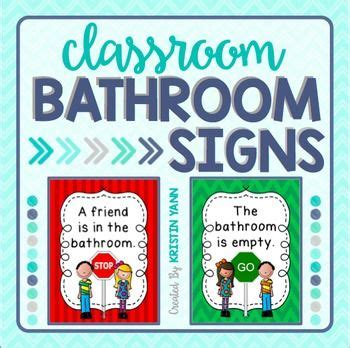 bathroom signs for classroom 1991 best images about classroom management on pinterest