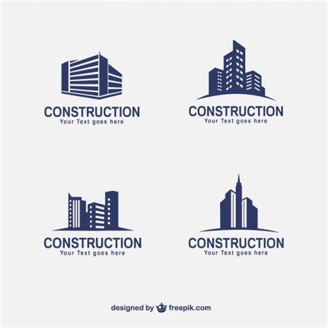 imagenes vectores logos logos para construccion fotos y vectores gratis