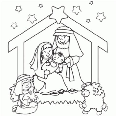 colouring pages christmas jesus online christmas nativity printables hubpages