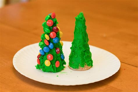 sugar cone christmas trees renee pinterest