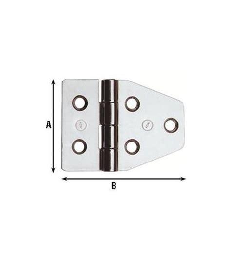 arredamenti nautici cerniere per arredamenti nautici acciaio inox 40x55 852in