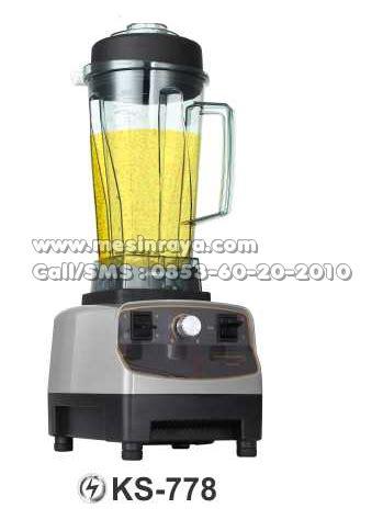 Blender Manual Malang membuat smoothie menggunakan heavy duty blender mesin raya
