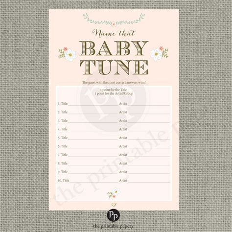 name the template printable name that baby tune baby shower