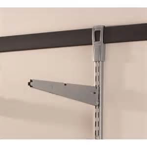 rubbermaid fasttrack garage shelf bracket 410mm bunnings
