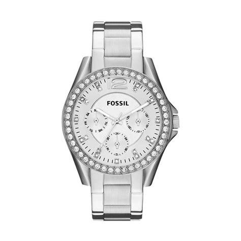 Jam Tangan Fossil Spiral Silver harga fossil es3202 jam tangan wanita silver pricenia