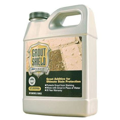 miracle sealants 22 oz grout shield grt shd 4 1 the