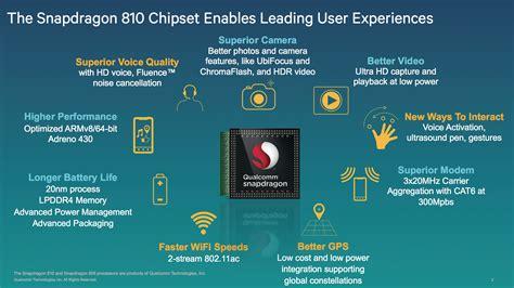 Sensor Set Cross A7 qualcomm unveils 64 bit snapdragon 808 and 810 socs the