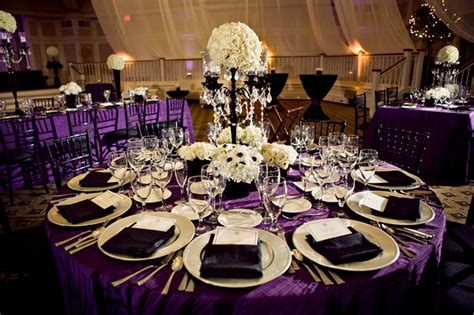 wedding table decorations purple and green archives decorating of party
