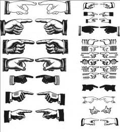 pointing hands vectors by bozoartist on deviantart