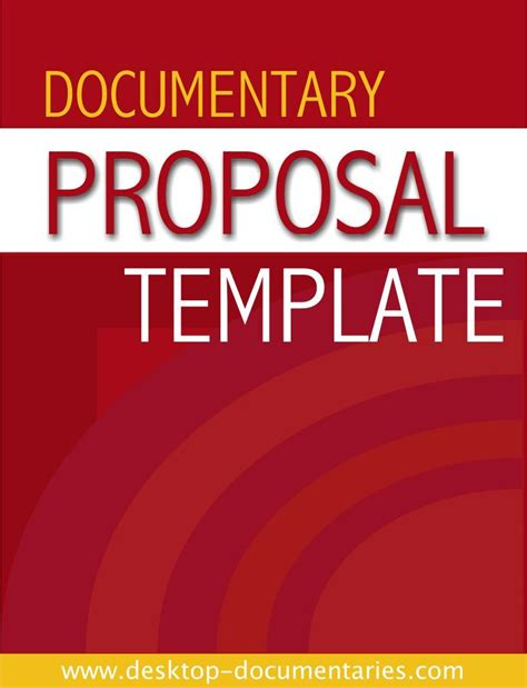 Documentary Proposal Template Documentary Fundraising Pinterest Proposal Templates Documentary Template