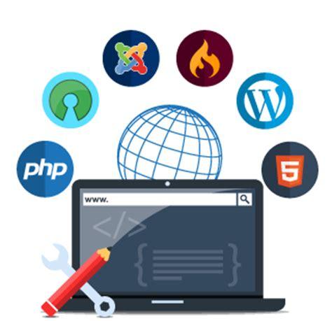 web development icon logo php web development company india php website design and