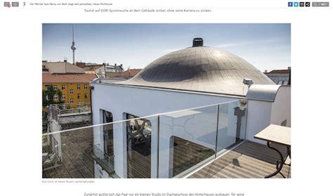 wohnung jean remy matt jean remy matt zeigt der fas sein penthouse in berlin