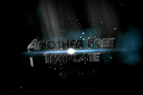 After Effects Intro Templates E Commercewordpress After Effects Intro Templates