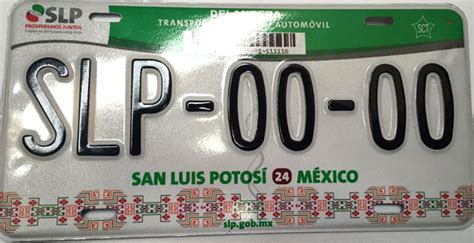 costo de placas san luis potosi 2016 anuncia finanzas sistema de placa 218 nica para san luis