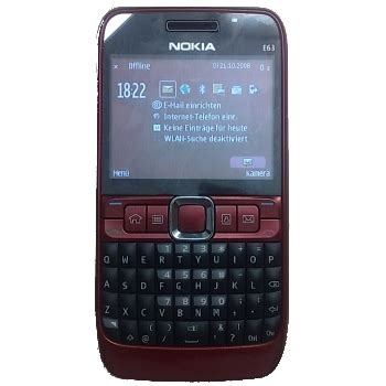 Hp Nokia E63 Eseries nokia e63 specs info revealed softpedia