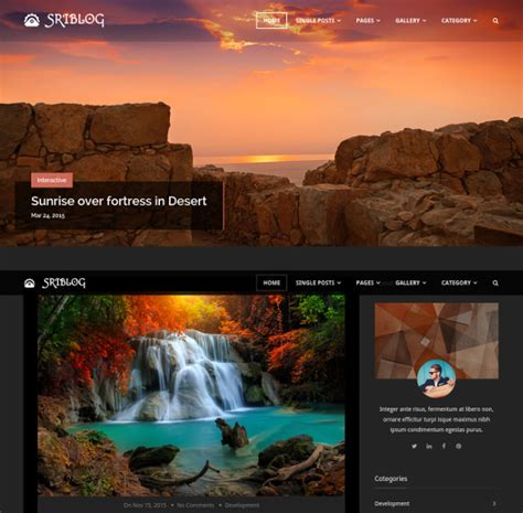 advanced layout wordpress 36 new wordpress themes templates released in january