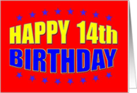 Happy 14th Birthday Wishes 14th Recovery Birthday Cards From Greeting Card Universe