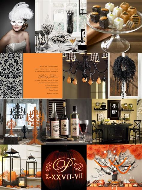 halloween themed wedding party cocktail party birthday