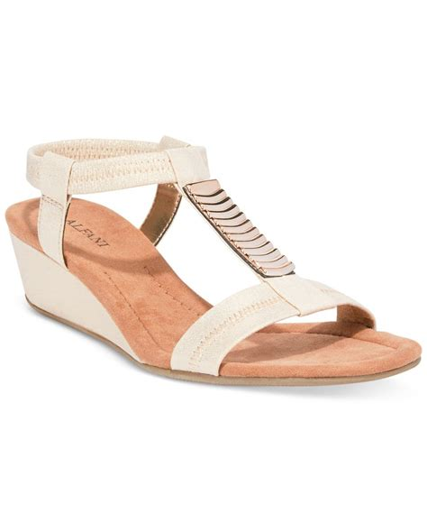 alfani s vacay wedge sandals only at macy s in