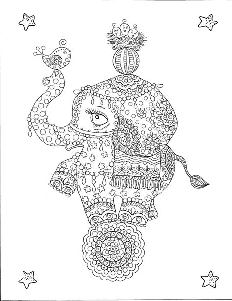 coloring pages abstract elephant abstract elephant coloring pages getcoloringpages com