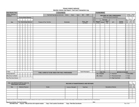 Gas Card Log Template by Printable Dot Log Sheet Images