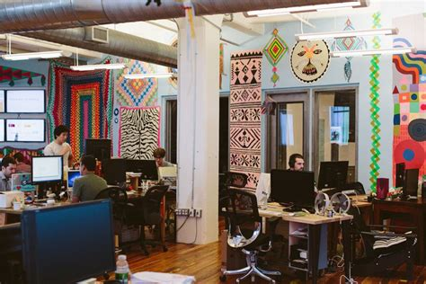Etsy Office by 13 Playful Work Environments That Reinvent Office Space