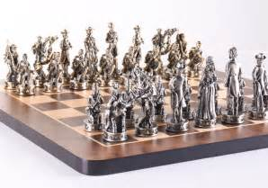 theme chess sets 16 quot civil war theme chess pieces chess house
