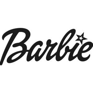 printable barbie font pin barbie logo font on pinterest