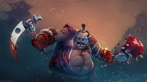 Dota 2 Obey Pudge curse of the forsaken general pudge dota 2 wallpapers