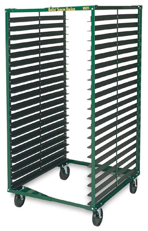Canvas Drying Rack by Rolling Screen Racker Blick Materials