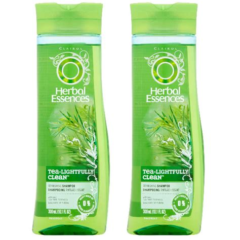 herbal essence tea lightfully clean shoo herbal essences shoo tea lightfully clean solo 1 50 en