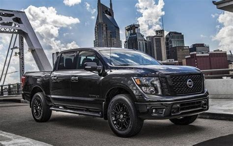 Nissan Titan 2020 by 2020 Nissan Titan Changes Midnight Edition Package 2019