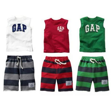 Boy Set Gap gap boy set sleeveless p16817 clothing gt children