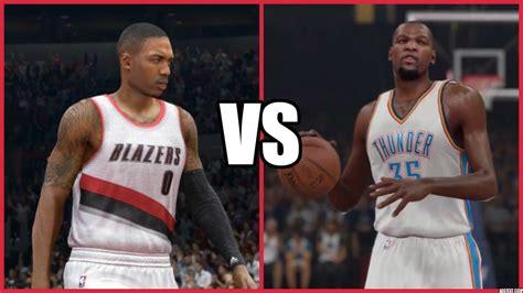 graphics vs nba 2k14 2k15 nba 2k15 vs nba live 15 graphical comparison who has