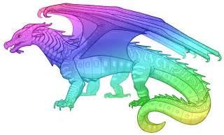 image rainbow seawing png wings of fire wiki fandom