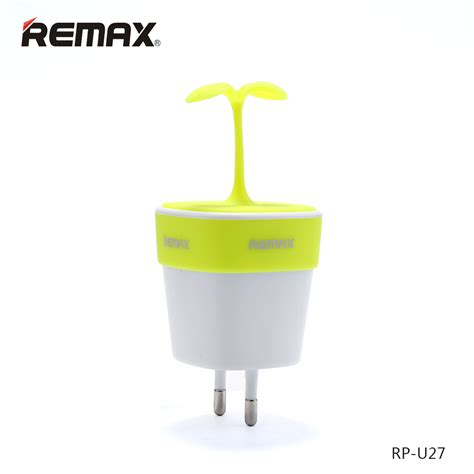 Remax Sapling Series Usb Charger Fast Charging 2 Port 24a remax sapling series usb charger fast charging 2 port 2 4a