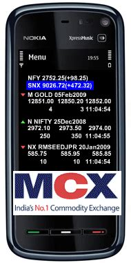 watch live mcx markt rate in mobile