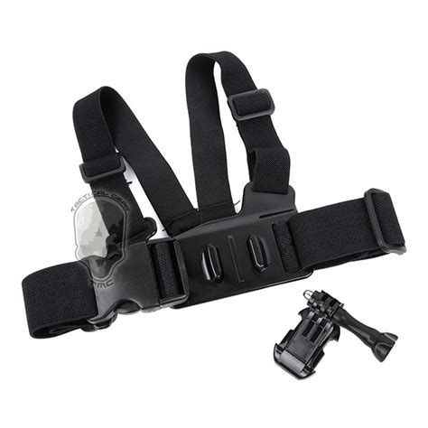 Aksesoris Gopro 3rd Chest Belt tmc junior chest belt with release buckle for gopro