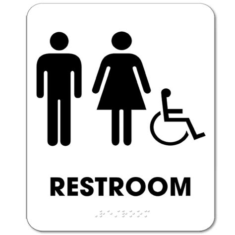 unique bathroom signs custom 40 bathroom sign handicap decorating design of