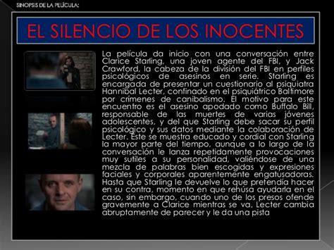 los silencios de el 8403014465 el silencio de los inocentes