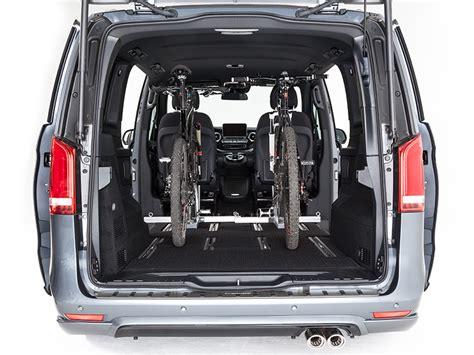 V Klasse Motorradtransport secufix f 252 r motorrad und fahrradbefestigung in ihrem van