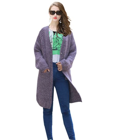 Line Color Thick Cardigan S854 s cardigan thick sweater coat fashion large size button cardigan sweater gray