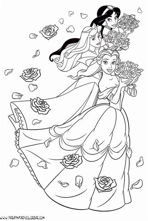 imagenes a blanco y negro de princesas dibujos para colorear de princesas 002