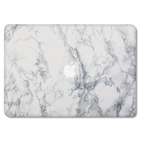 Macbook Pro 13 Marble White White 1 macbook pro 13 retina gmyle print frosted white marble cover ebay