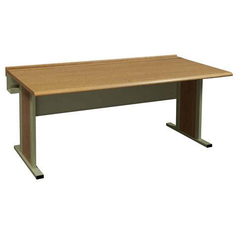 60 x 30 desk laminate 30 215 60 inch used training oak national