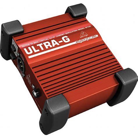 Behringer Ultra G Gi100 Di Box behringer behringer gi100 ultra g professional battery