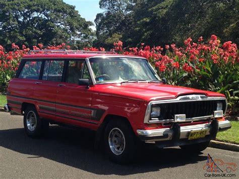 classic jeep wagoneer jeep cherokee wagoneer truck v8 classic in paddington nsw