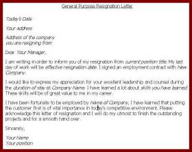 Sle Of Resignation Letter One Month Notice by 20 1 Month Notice Of Resignation Sendletters Info