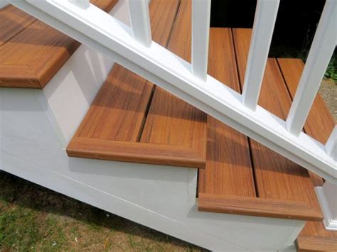 Composite Deck Stairs Pictures ? Railing Stairs And Kitchen Design : How To Make Composite Deck